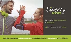 Liberty Gym Mulhouse Kingersheim:  Abonnement de 3, 6 ou 12 mois dès 39,90 € à la salle Liberty Gym de Mulhouse kingersheim
