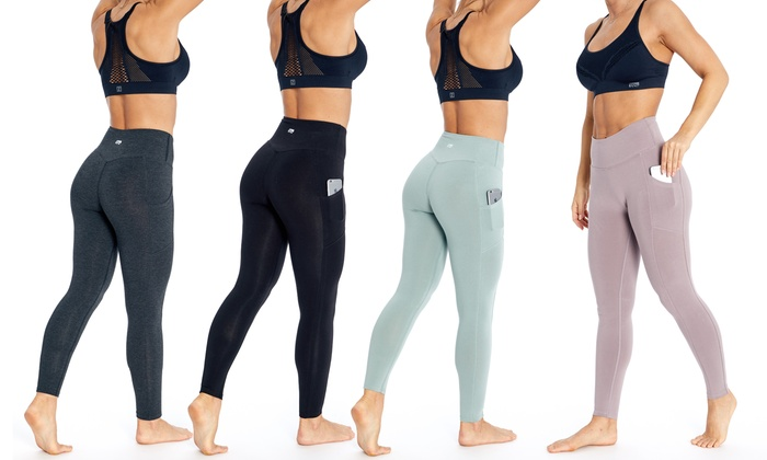 1a840797e95175 Up To 64% Off on Marika Pocket Legging with Plus | Groupon Goods