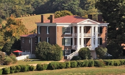 groupon daily deal - 2-Night Stay for Two with Daily Breakfast at Maple Hall Inn in Lexington, VA. Combine Up to Four Nights.