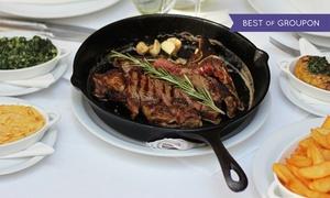 Delmonico Cut Steakhouse: Soczyste steki z dodatkami dla 2 osób za 139 zł i więcej opcji w Delmonico Cut Steakhouse w Sopocie (do -43%)