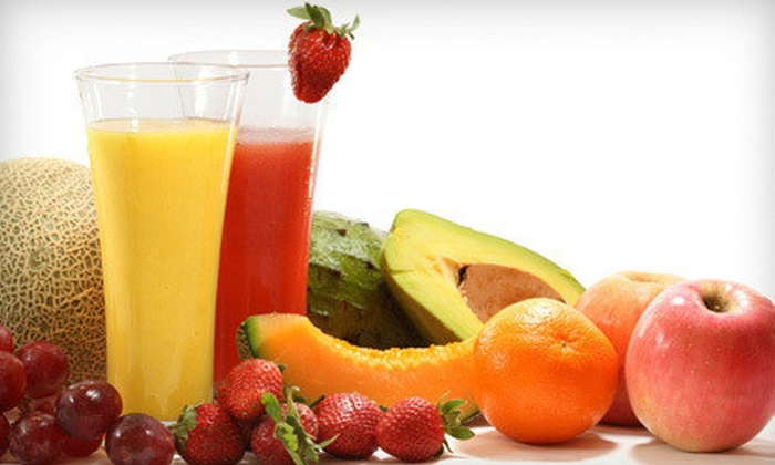 Simply Well - Northwest Virginia Beach: Three- or Five-Day Custom Juice Cleanse at Simply Well (Up to 67% Off)