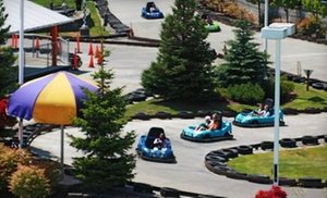 Family Fun Center & Bullwinkle's Restaurant: $13 for Rides and Attractions at Family Fun Center & Bullwinkle's Restaurant ($25.99 Value)