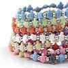 Trrtlz Animal-Shaped Beaded Bracelet Set (10-Piece)
