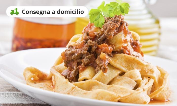 Codice Coupon Prodotti Gourmet a Castello Di Serravalle: 6,00€ per Cucina tipica locale a domicilio  da