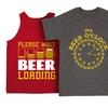 Men's Beer T-Shirt or Tank Top