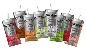 Up to 43% Off 8- or 16-Packs from buzzbox Premium Cocktails