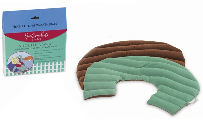 Spa Comforts Hot and Cold Shoulder Wrap: $12.99 for Dreamtime Spa Comforts Hot and Cold Shoulder Wrap ($24 list Price). Free Returns.