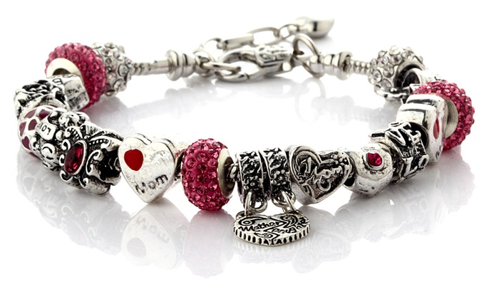73 Off Mother S Love Charms Bracelet From Novadab