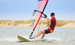 Freizeitarena Dümmersee: Windsurfkurs inkl. Surfschein VDWS für eine oder zwei Personen in der Freizeitarena Dümmersee (52% spraren*)
