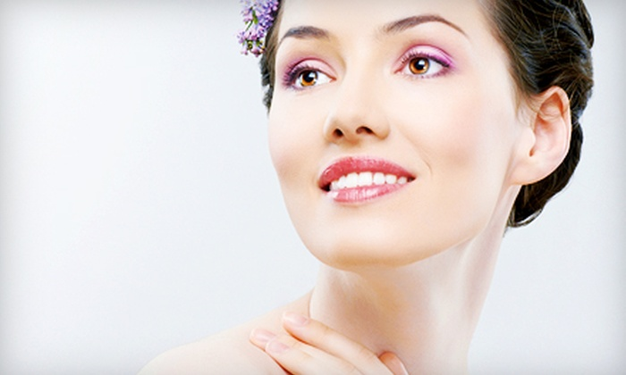 Pure Spa and Salon - Dallas: Facial Lift or Microdermabrasion with Collagen Masks and Lip Treatments at Pure Spa and Salon (61% Off)