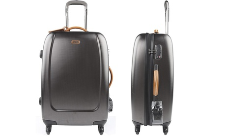 Melvin Four-Wheeled Hard Suitcase With Free Delivery