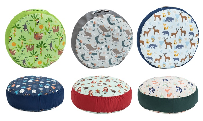 Kids' Printed Floor Cushion