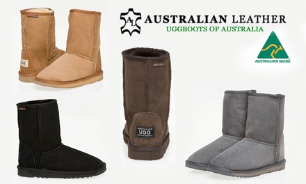 $79 for Australian Leather Classic 3/4 UGG Boots in a Range of Colours and Sizes (Dont Pay $239)