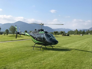 Experience: Helicopter Flight with Bubbly For just: £69.0