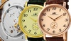Men's Automatic Watches with Skeletal Back Window: Men's 20-Jewel Mechanical Movement Watches with Skeletal Back Window