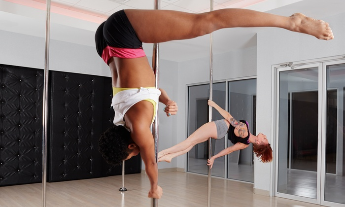 Pole Dance Charlotte - Pole Dance Charlotte: 5 or 10 Pole-Fitness Classes or 30 Days of Unlimited Classes at Pole Dance Charlotte (Up to 70% Off)