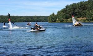 Seasky: Séance de Flyboard aux Lacs de l'Eau d'Heure ou à Pommeroeuldès 79 € avec Seasky