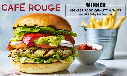 image for Choice of Main Course with Drinks for Two or Four at Café Rouge, Multiple Locations (Up to 50% Off)