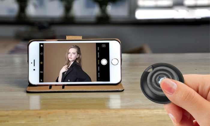 One or Two Smart Bluetooth Selfie Remotes From £4