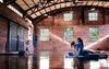 Flow Space - Grove Street: Three Aerial-Yoga Classes or 10 or 20 Yoga at Flow Space (Up to 46% Off)