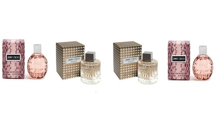 Two 4.5ml Bottles of Jimmy Choo Illicit Eau de Parfum and Two 4.5ml Bottles of Jimmy Choo Eau de Parfum Women's Set