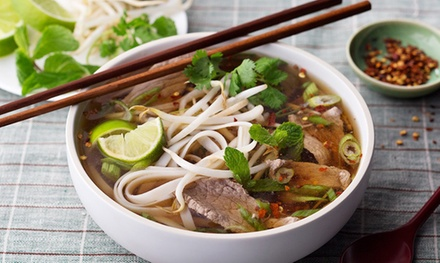Pho and Spring Rolls for One $12 or Two People $22 at Mister Truong's 2 Up to $36 Value