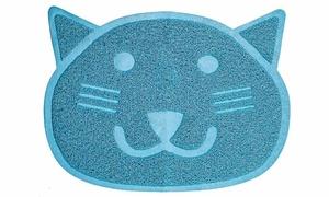 Fresh Step Cat-Shaped Litter Trapper Keeper Mat (2- or 3-Pack)