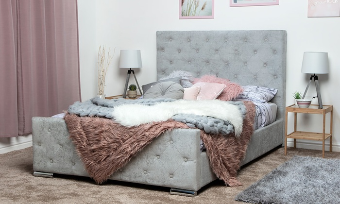 Buckingham Bedframe with Optional Mattress