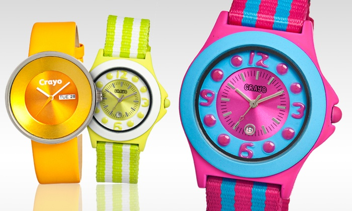 Crayo Women's Watches: $32.99 for Crayo Women's Watches (Up to $125 List Price). Multiple Styles and Colours Available.