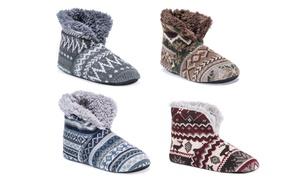Muk Luks Men's Short Slipper Boots