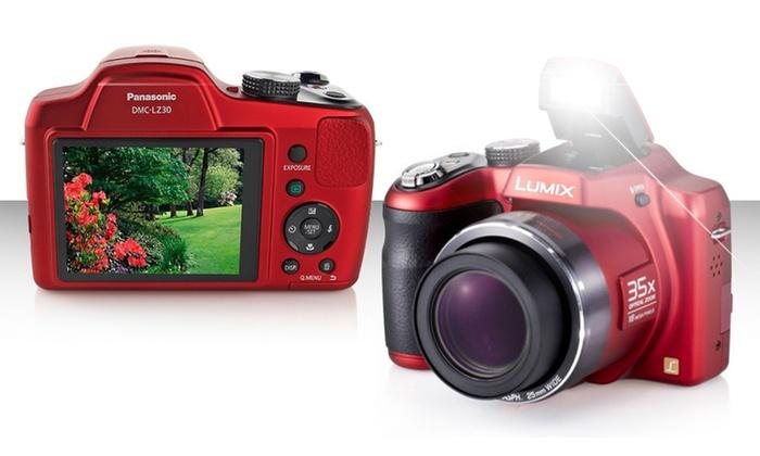 Panasonic (DMC-LZ30) 16MP, 35X Zoom Digital Camera: Panasonic 16MP Digital Camera (DMC-LZ30). Free Returns.