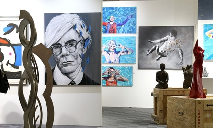 Admission to Red Dot Art Fair Miami on December 5 - 9 (Up to 50% Off). Five Options Available.