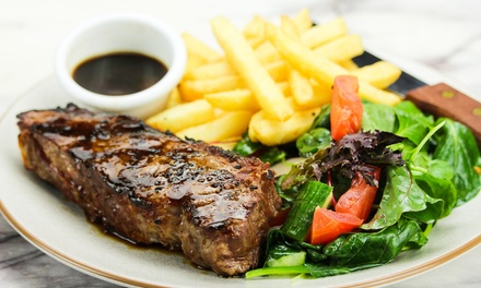 Choice of a Dinner Main + Wine or Beer: 2 $29, 4 $58 or 6 $87, Green Light Diner @ Clocks on Flinders Up to $150