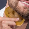 Handmade Wooden Mustache and Beard Comb
