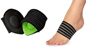 Cushioned Plantar Fasciitis Foot Arch Supports (2-Pack)