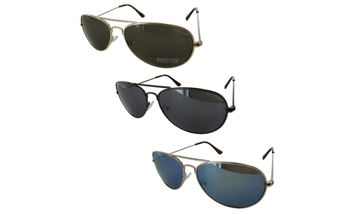 Kenneth Cole Reaction Aviator Sunglasses for Women