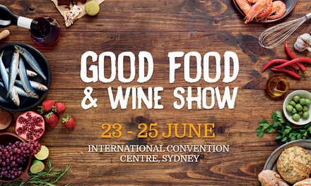 Good Food And Wine Show Perth Groupon
