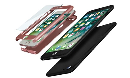 Hybrid Shockproof Case for iPhone 6/6s, 6 Plus/6s Plus, 7, 7 Plus, 8 or 8 Plus for AED 49