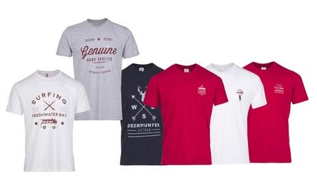 Pack de 3 camisetas de 100% algodón
