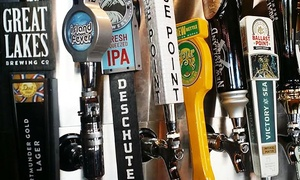 Craft Beer Bar: $12 for $20 Worth of Dinner for Two at Craft Beer Bar