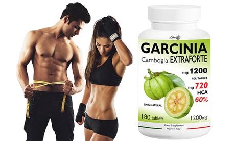 Hasta 720 cáspulas del complemento alimenticio de Garcinia Lineadiet