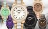 Deporte Kemora Ladies' Bracelet Watch with Colorful Enamel Inserts: Deporte Kemora Ladies' Bracelet Watch with Colorful Enamel Inserts