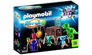 Playmobil Tribu d'Alien et T-Rex