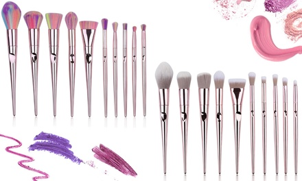 Set da 10 pennelli per make-up