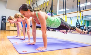Club Pilates Santee: Eight Pilates Classes or One Month of Unlimited Pilates Classes at Club Pilates Santee (Up to 66% Off)
