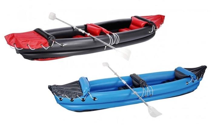 kayak 2 places gonflable groupon shopping. Black Bedroom Furniture Sets. Home Design Ideas