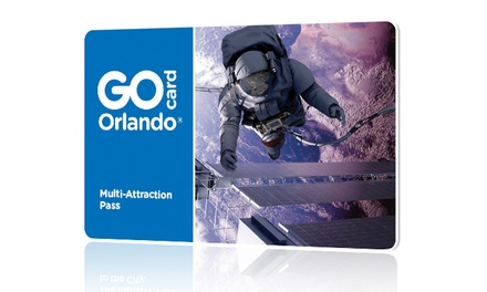 Two-Day All-Inclusive Go Orlando Card Including Free Admission to 30+ Popular Orlando Attractions