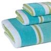 Shoreline Striped 100% Cotton Towel Set (3-Piece)