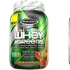 MuscleTech All-in-One Whey + Greens Workout Supplements (1- or 2-Pack)