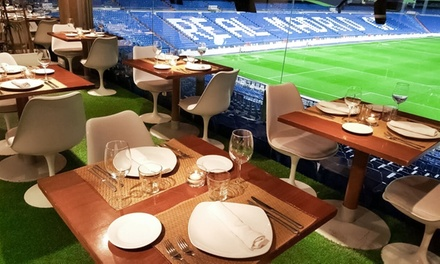 Brunch para 2 personas con principal, bebida, café, zumo, postre, tosta y macedonia desde 22,99 € en Real Café Bernabéu